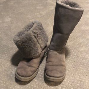 Tall Classic UGG Gray Size 8